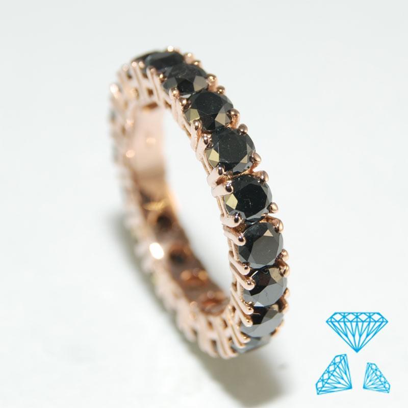 Diamanti E Rosè Neri Fede Oro Tutto Giro LUSzVpqMjG