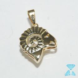 Ciondolo Ariete in oro giallo 750