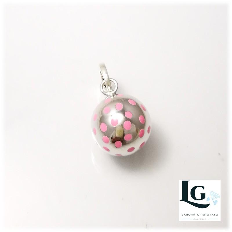 Small ball Pois rosa