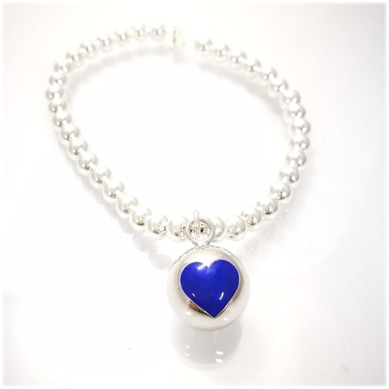 Small Ball con cuore blu