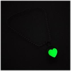 Small Ballbracciale con cuore fluorescente