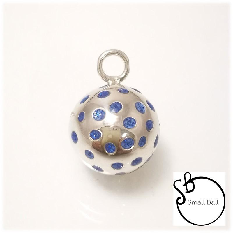 Small Ball Puase blu gliter