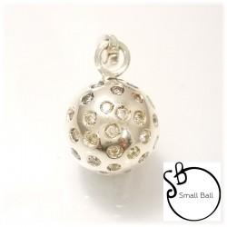 Small Ball con duraliti bianche sparse