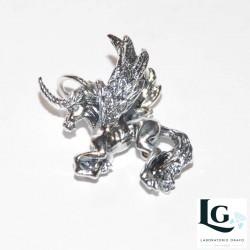 Unicorno in argento 925 codice 0214