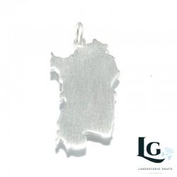 Ciondolo Sardegna in argento 925