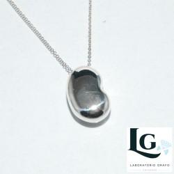 Ciondolo Fagiolo in argento 925