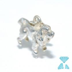 Ciondolo cane in argento 925 codice 0205