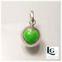 Small Ball cuore fluorescente