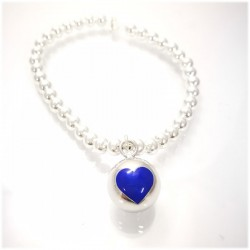 Small Ball con cuore blu