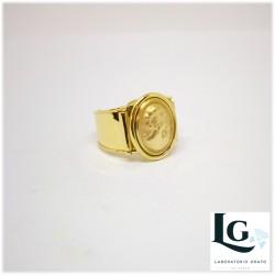 Anello Cammeo In oro giallo 750