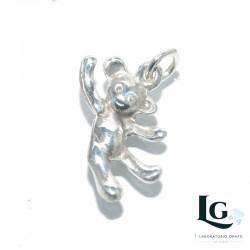 Ciondolo Orsetto in argento 925